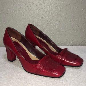 Naturalizer Red Heels